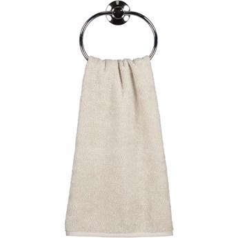 Ręcznik bawełniany 50x100 Heritage beżowy, Cawö