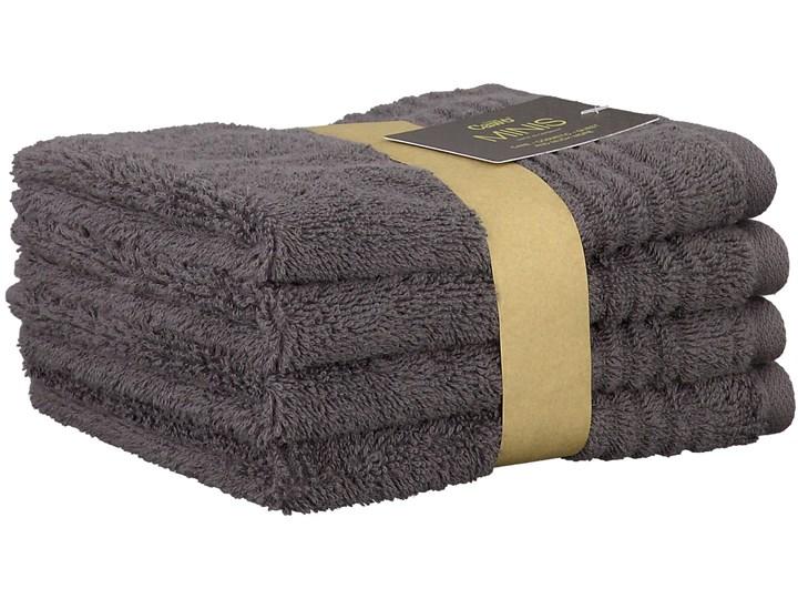 Ręcznik bawełniany 30x30 Minis antracytowy, Cawö Bawełna 30x30 cm Dziecięce Kolor Szary