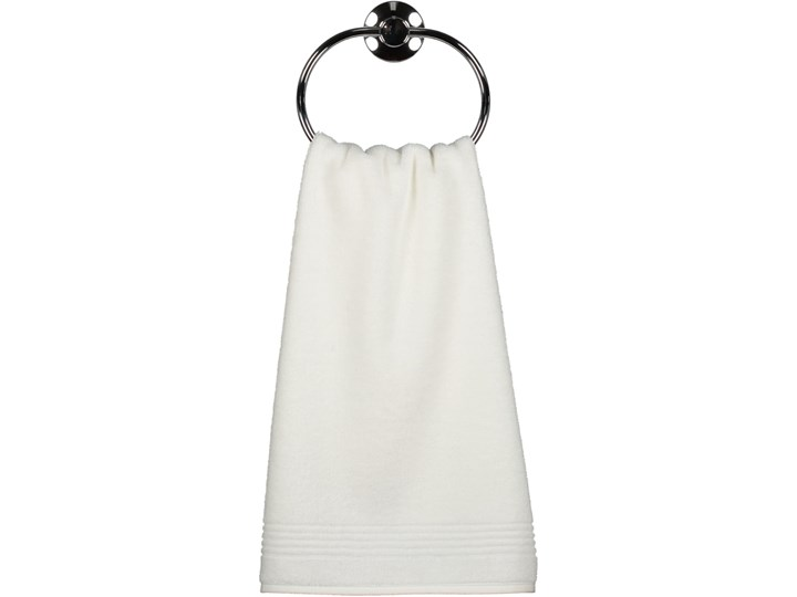 Ręcznik bawełniany 50x100 Essential biały, Cawö 50x100 cm Bawełna Kategoria Ręczniki