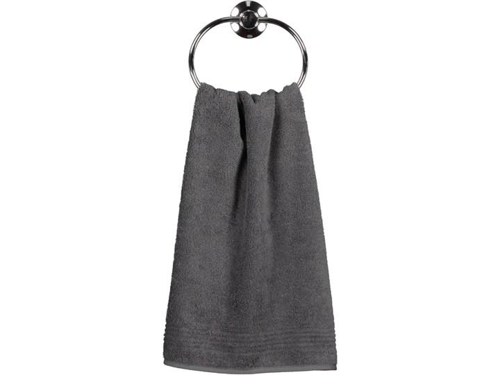 Ręcznik bawełniany 50x100 Essential antracytowy, Cawö 50x100 cm Kolor Szary Bawełna Kategoria Ręczniki