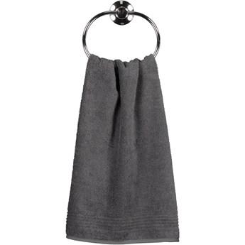 Ręcznik bawełniany 70x140 Essential antracytowy, Cawö