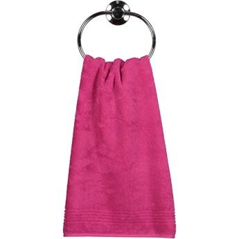 Ręcznik bawełniany 50x100 Essential różowy, Cawö