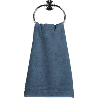 Ręcznik bawełniany 50x100 Essential ciemnoniebieski, Cawö