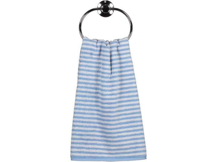 Ręcznik bawełniany 30x50 Campus pasy błękitny, Cawö Kolor 30x50 cm Bawełna Kategoria Ręczniki