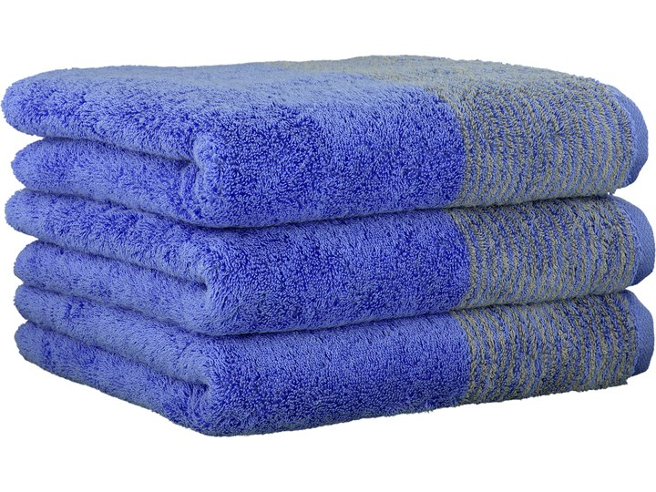 Ręcznik bawełniany 80x150 Two-Tone niebieski, Cawö Bawełna 80x150 cm Kategoria Ręczniki
