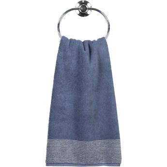 Ręcznik bawełniany 50x100 Two-Tone ciemnoniebieski, Cawö
