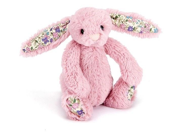 Królik różowy k. uszy 13 cm, JellyCat