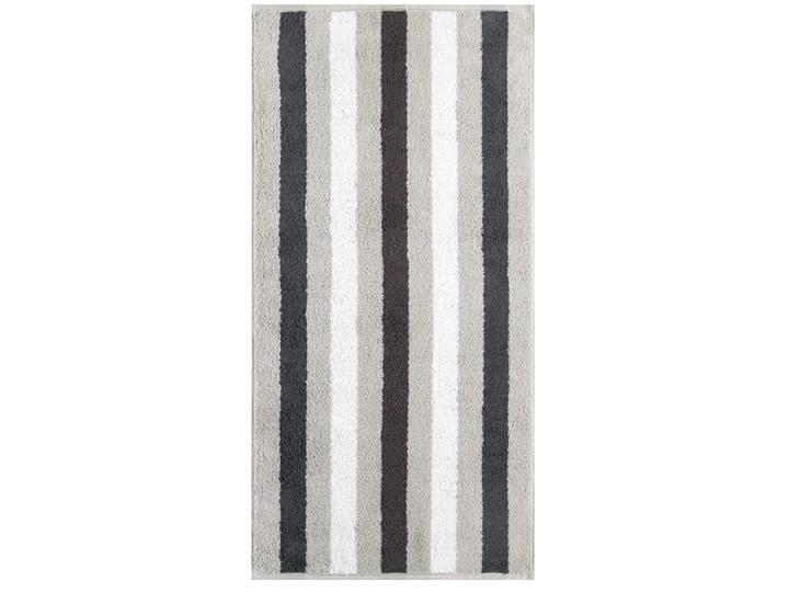 Ręcznik bawełniany 80x150 Heritage Stripes platynowy, Cawö