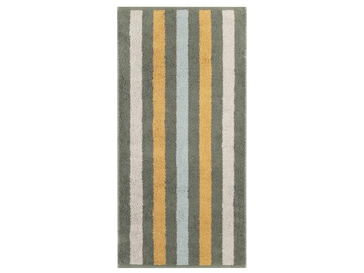 Ręcznik bawełniany 50x100 Heritage Stripes ciemnozielony, Cawö 50x100 cm Bawełna Kategoria Ręczniki