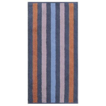 Ręcznik bawełniany 80x150 Heritage Stripes ciemnoniebieski, Cawö