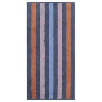 Ręcznik bawełniany 50x100 Heritage Stripes ciemnoniebieski, Cawö