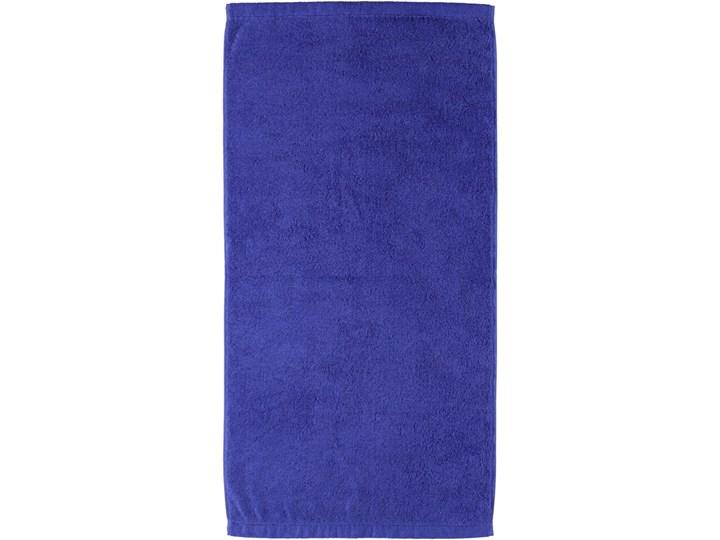 Ręcznik bawełniany 30x50 Life Style szafirowy, Cawö Bawełna 30x50 cm Kategoria Ręczniki Kolor Fioletowy