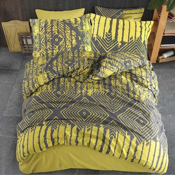Darymex Pościel bawełniana 160x200 Cottonlove Exclusive Modenna Yellow