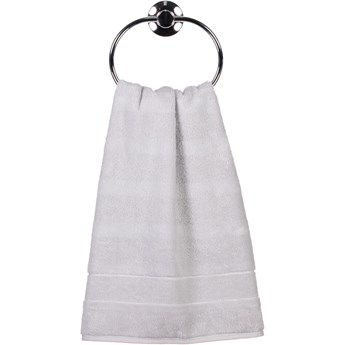 Ręcznik bawełniany 50x100 Noblesse 2 srebrny, Cawö