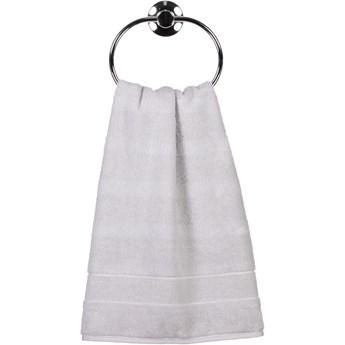 Ręcznik bawełniany 30x50 Noblesse 2 srebrny, Cawö