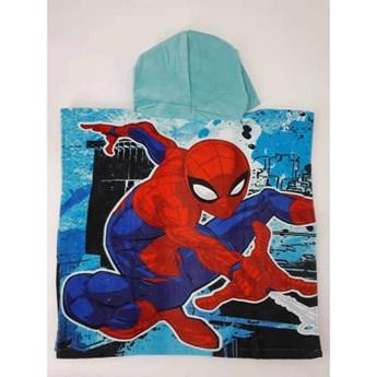 Ręcznik dziecięcy ponczo 55x110 Spiderman, Setino