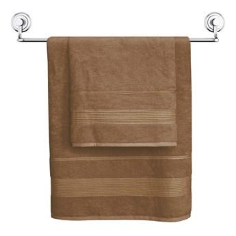 Darymex Ręcznik bamboo Moreno 50x90 kolor jasny brąz