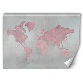 Fototapeta - Abstrakcyjna mapa świata