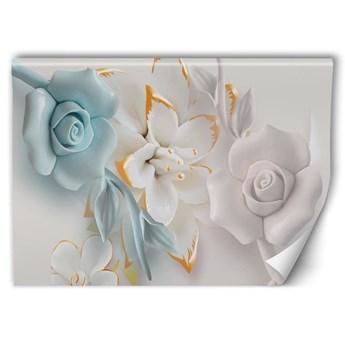 Fototapeta - Kwiaty abstrakcja