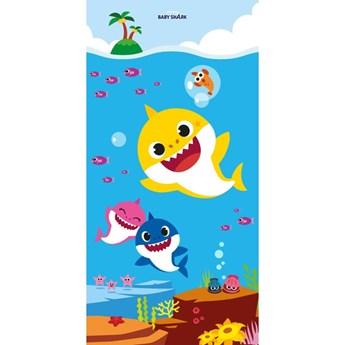Ręcznik dziecięcy frota 70x140 Baby Shark, Halantex