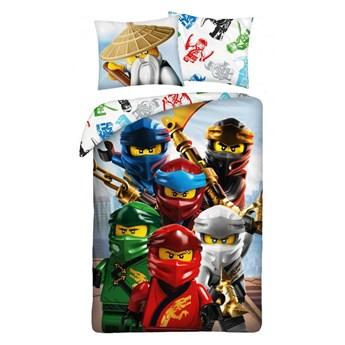 Pościel bawełniana 140x200 Lego Ninjago 2, Halantex
