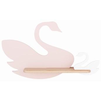 Kinkiet Swan Kids różowo-biały, Candellux