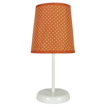Lampa nocna Gala Pomarańczowa w kropki, Candellux