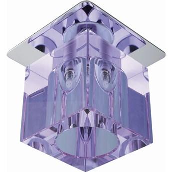 Oprawa sufitowa Kryształ Chrom Fioletowy, Candellux