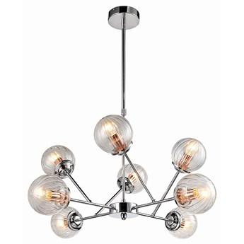 Lampa wisząca Best 8 Chrom Miedź, Candellux