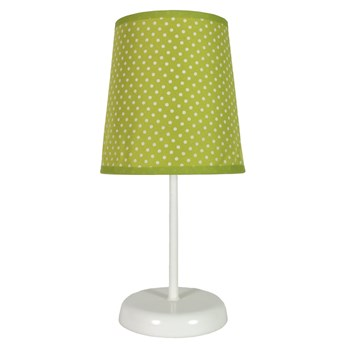 Lampka nocna Gala Zielona w kropki, Candellux
