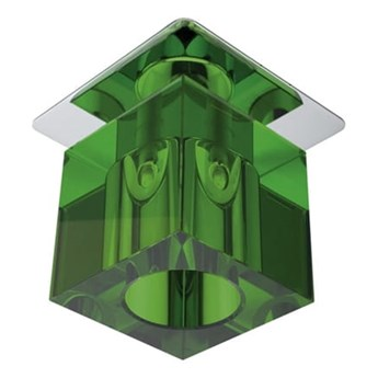 Oprawa sufitowa stała Kryształ Zielona, Candellux