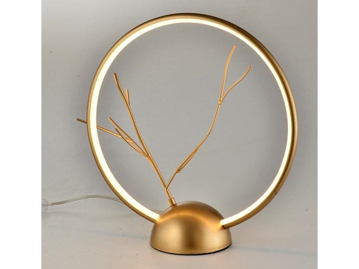 Lampa stołowa Davos 1 Złoty, Candellux Lampa gabinetowa Styl Klasyczny