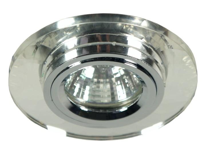 Oprawa sufitowa stała okrągła Szkło, Candellux Okrągłe Oprawa stropowa Oprawa led Kategoria Oprawy oświetleniowe
