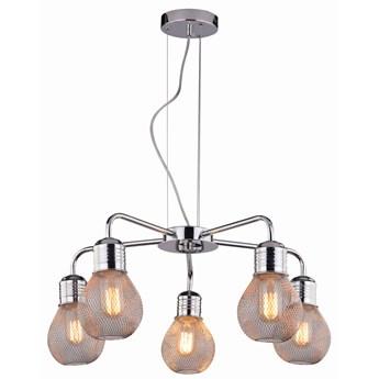 Lampa wisząca Gliva 5 Chrom, Candellux