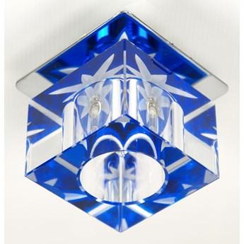 Oprawa sufitowa stała Kryształ Kostka Tło Niebieskie, Candellux