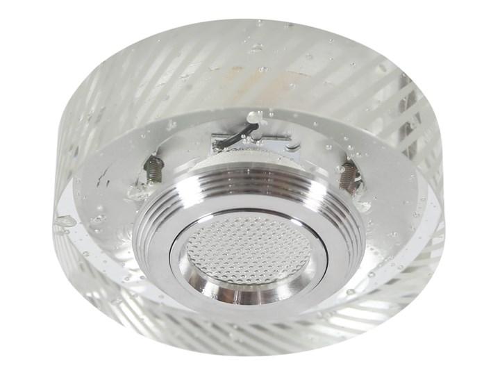 Oprawa sufitowa stała Szkło Transparentne, Candellux Oprawa led Kolor Przezroczysty Oprawa stropowa Kategoria Oprawy oświetleniowe