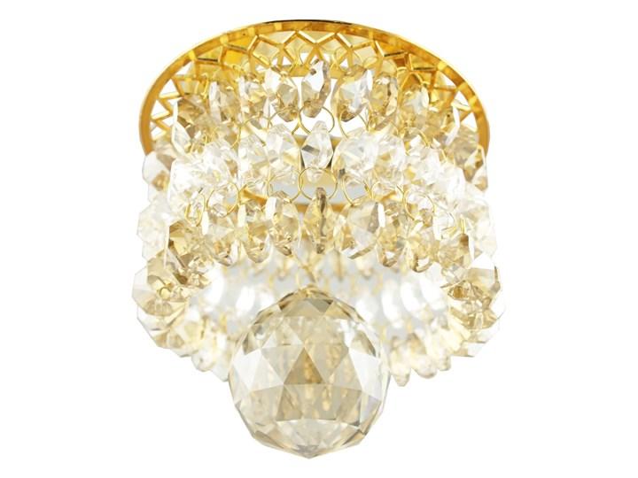 Oprawa sufitowa Dekoracyjna Złota Transparentna, Candellux Oprawa stropowa Oprawa dekoracyjna Kolor Złoty