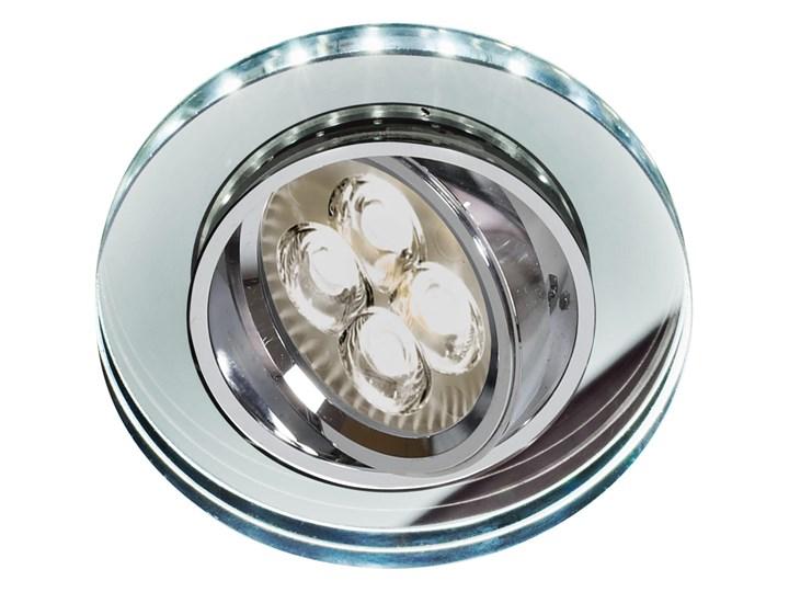 Oprawa sufitowa Szkło Transparentne, Candellux Okrągłe Oprawa stropowa Oprawa led Kwadratowe Oprawa dekoracyjna Kolor Przezroczysty