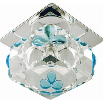 Oprawa sufitowa stała Kryształ Kostka Błękitne Łezki, Candellux