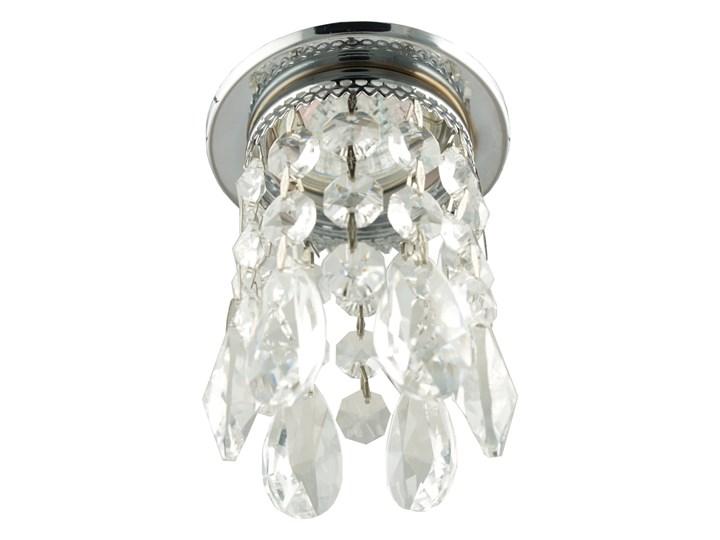 Oprawa sufitowa Transparentna Chrom, Candellux Kolor Przezroczysty Oprawa led Oprawa stropowa Oprawa dekoracyjna Kategoria Oprawy oświetleniowe