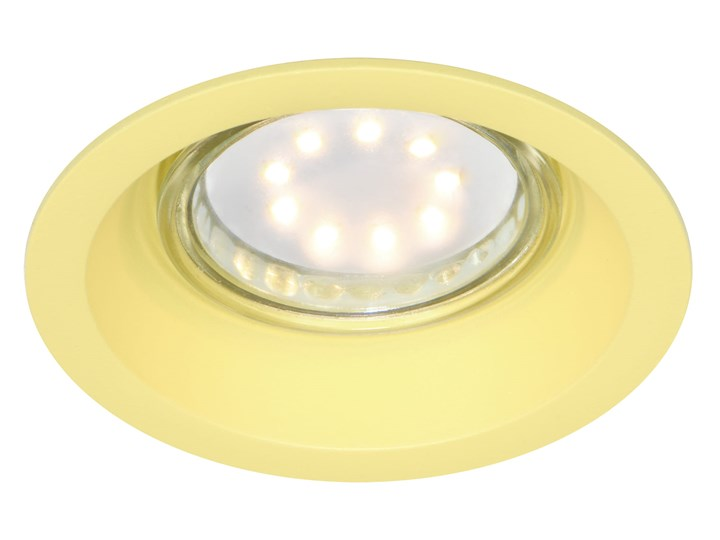 Oprawa sufitowa Aluminium Kolor Żółty, Candellux Oprawa stropowa Kategoria Oprawy oświetleniowe