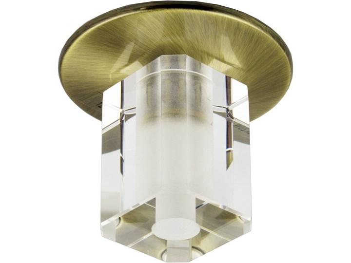 Oprawa sufitowa stała Kryształ Patyna, Candellux Oprawa stropowa Oprawa dekoracyjna Oprawa led Oprawa halogenowa Kategoria Oprawy oświetleniowe