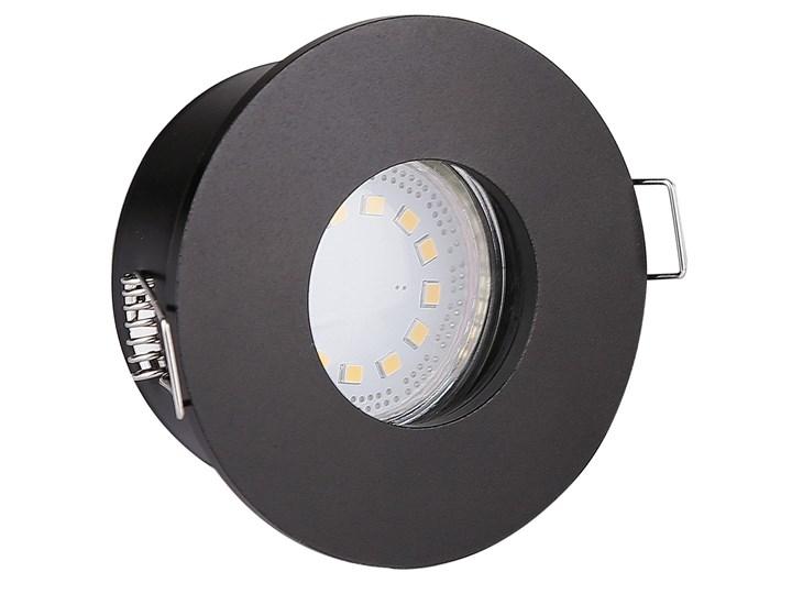 Oprawa sufitowa Hermeyczna Czarna, Candellux Kolor Czarny Oprawa stropowa Kategoria Oprawy oświetleniowe