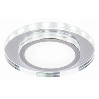 Oprawa sufitowa Szlif Szkło Transparentne Ring Led Biały , Candellux