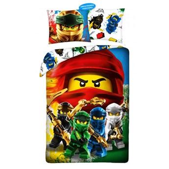 Pościel bawełniana 160x200 Lego Ninjago, Halantex