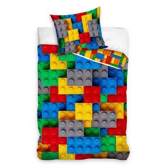 Pościel bawełniana 135x200 Klocki Lego,Carbotex