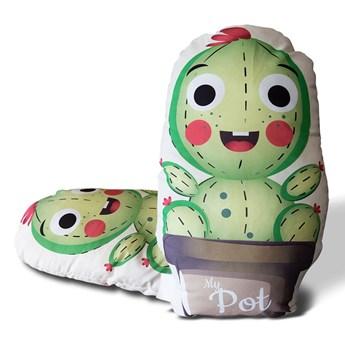 Darymex Poduszka dziecięca przytulanka 40x40 Kaktus baby boy
