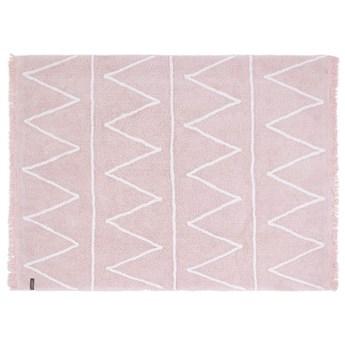 Dywan bawełniany Hippy Soft Pink 120x160 cm, Lorena Canals