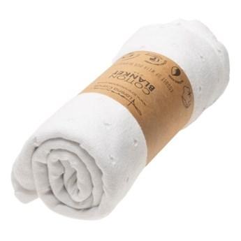 Kocyk bawełniany Biscuit White, Lorena Canals