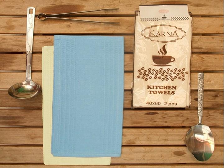 Bilge Ręcznik bawełniany waffle MEDLEY/2806/blue/ 2x40x60 kpl. Komplet ręczników Bawełna 40x60 cm Kolor